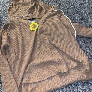 Oatmeal color hoodie
